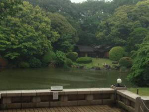 Beautiful gardens in Ueno Park