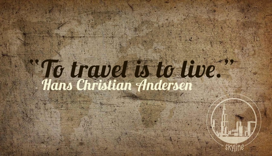 Travel is to live